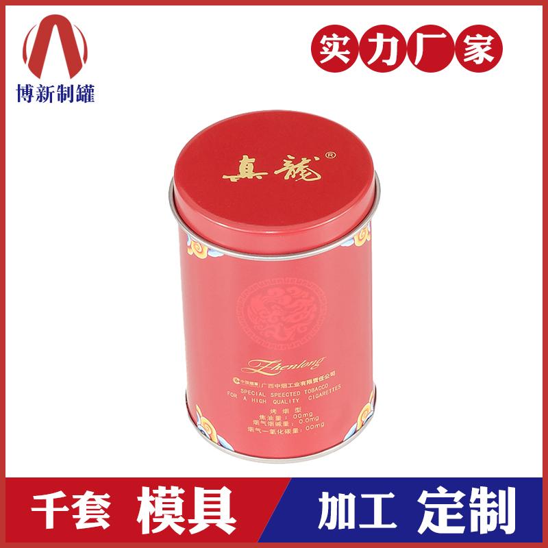 春节礼品罐-圆形铁罐包装