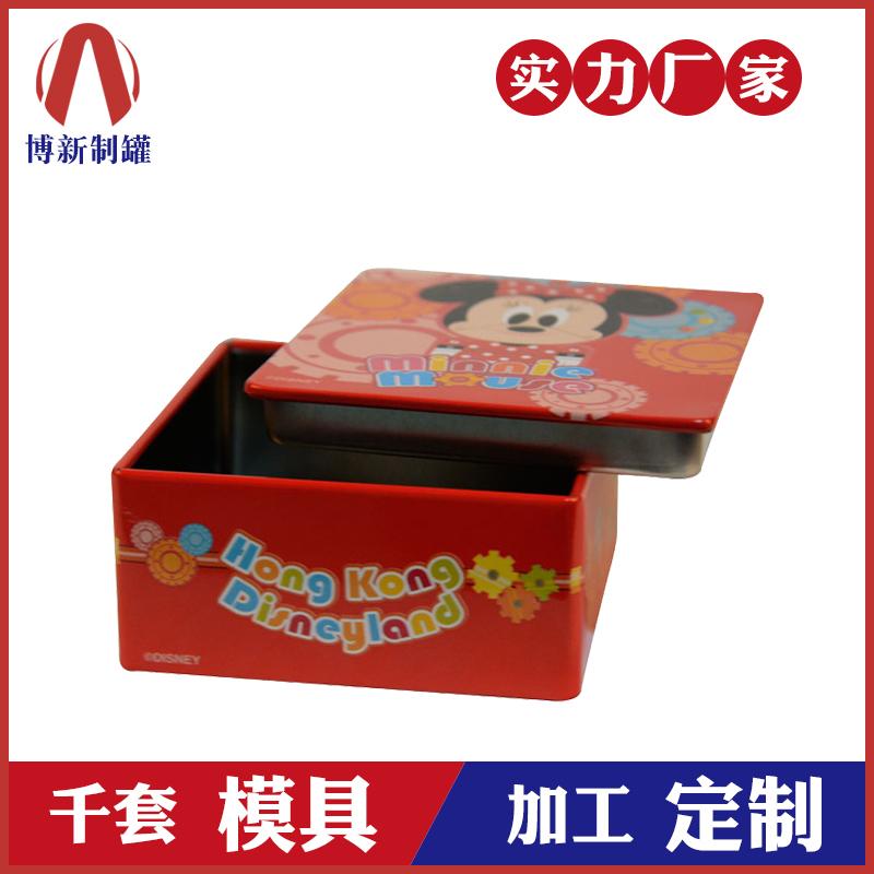 食品包装盒-方形马口铁盒定制