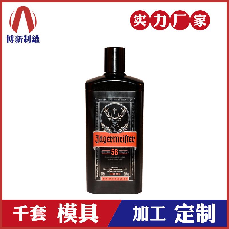 伏特加铁罐-高档马口铁酒罐