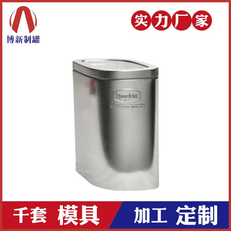 开窗白铁盒-马口铁储存罐