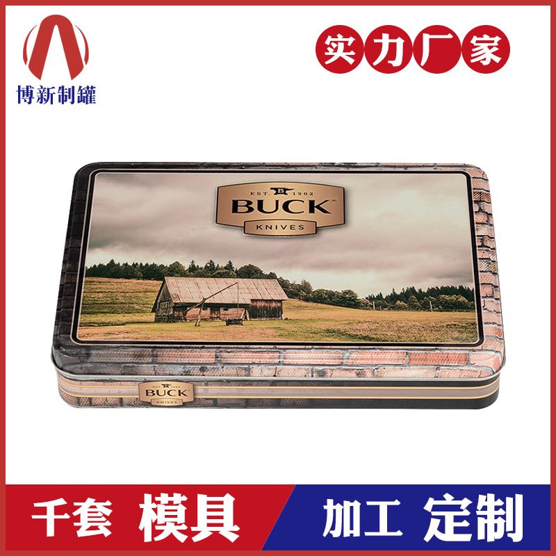 方形铁盒-马口铁罐定制