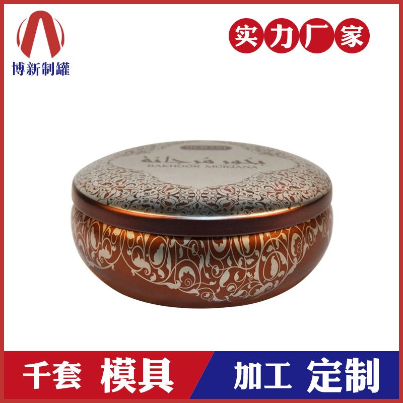 厂家定制马口铁- 圆形蜡罐金属包装