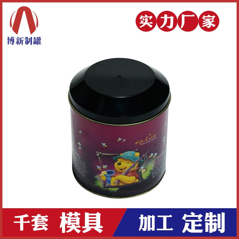圣诞礼品铁罐子-中号圆形马口铁盒