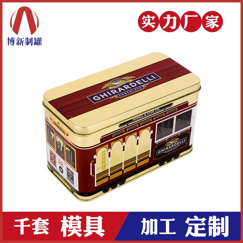 饼干铁盒包装-汽车饼干铁盒