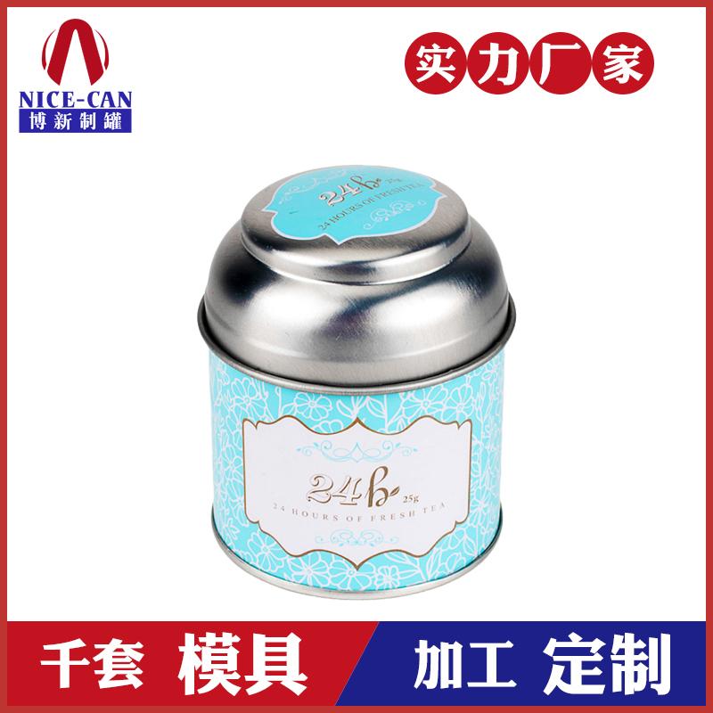 马口铁茶叶罐-圆形茶叶罐