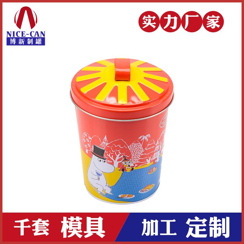 饼干罐-圆形马口铁食品罐
