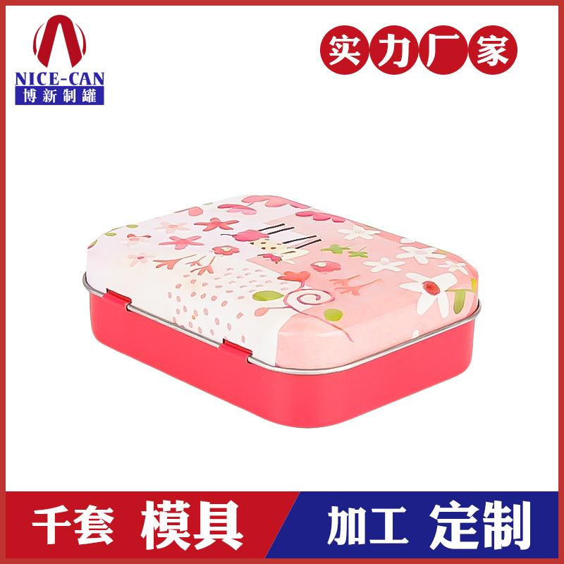 糖果小铁盒-方形糖果食品铁罐