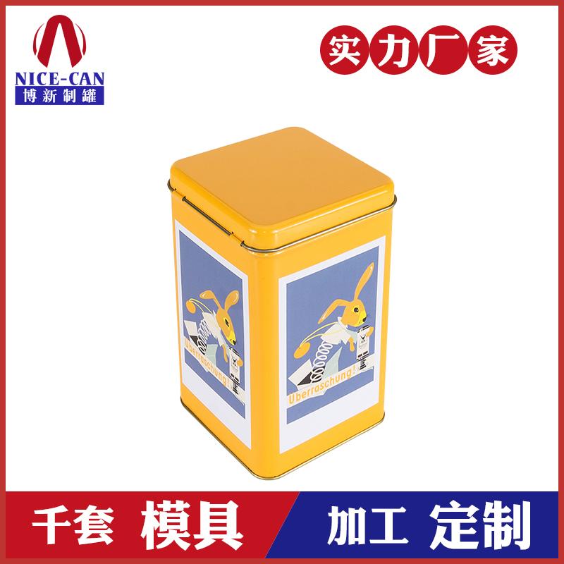 翻盖马口铁罐-长方形糖果铁罐