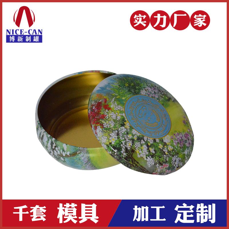 马口铁盒定制-圆形蜡烛铁罐包装