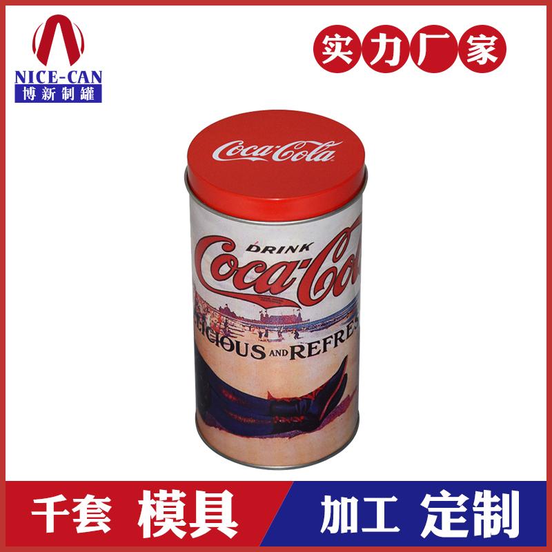 糖果包装铁罐-圆形喜糖盒铁罐