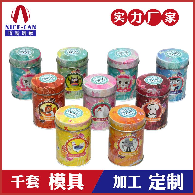 圆形食品铁盒-糖果饼干铁罐包装