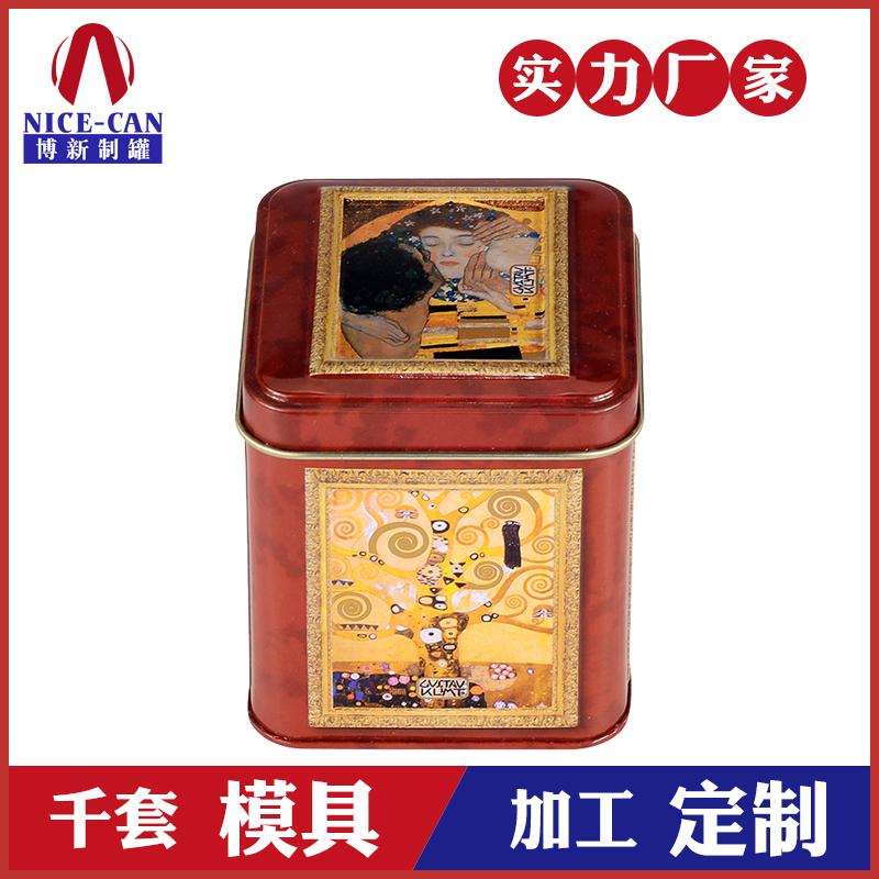 保健品铁盒-正方形铁盒包装定制