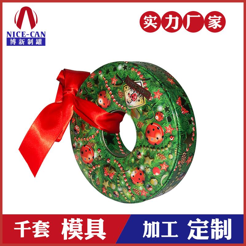 异形礼品铁盒包装-圣诞糖果礼品铁盒包装