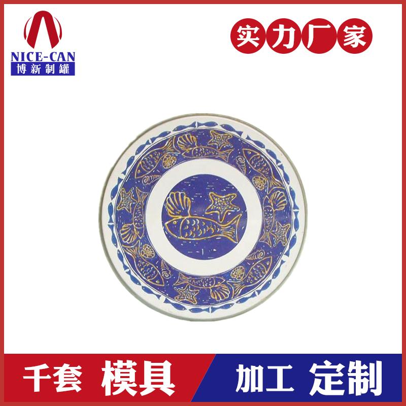 马口铁盘子-圆形瓜果铁盘