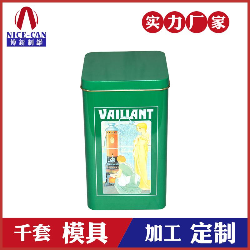 茶叶铁罐定制-方形马口铁茶叶罐