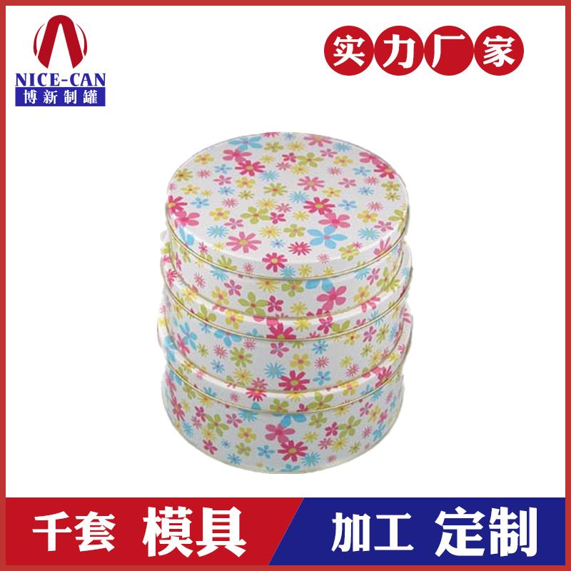 圆形马口铁盒-食品铁盒包装
