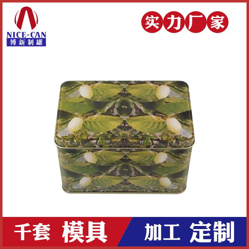 食品铁盒包装-方形马口铁食品盒定制