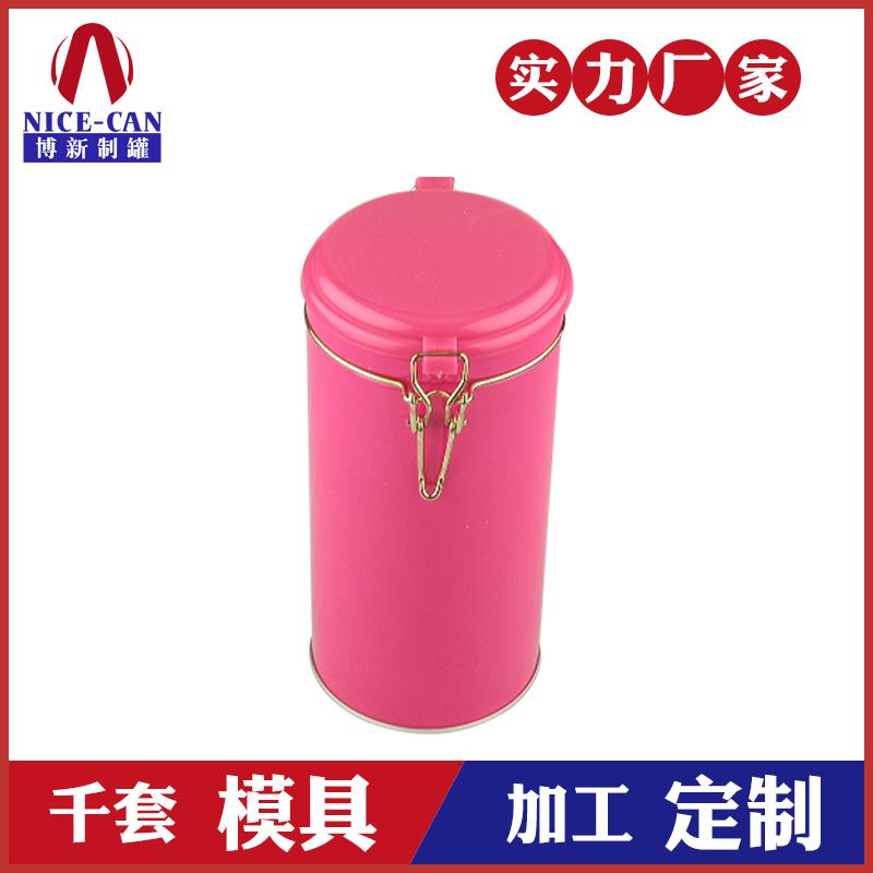 圆形马口铁盒定制-糖果饼干茶叶密封罐