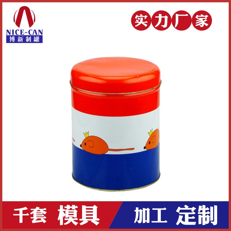 马口铁糖果盒-圆形糖果铁盒子