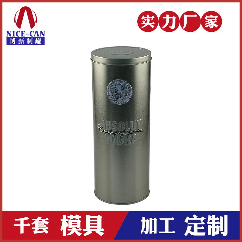 马口铁酒罐定制-高档白酒铁罐生产