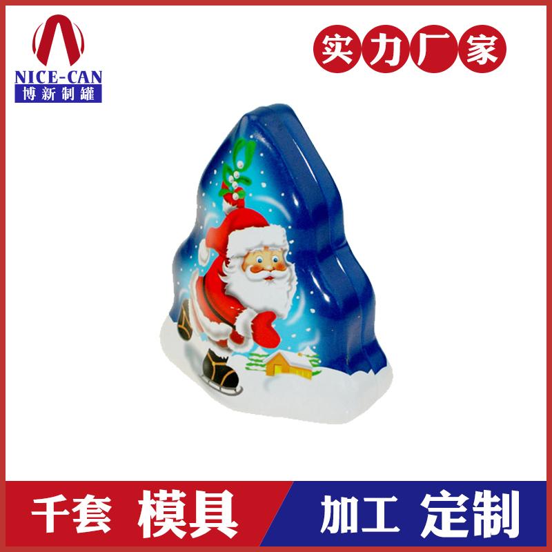 圣诞树形礼品盒-树型马口铁盒厂家