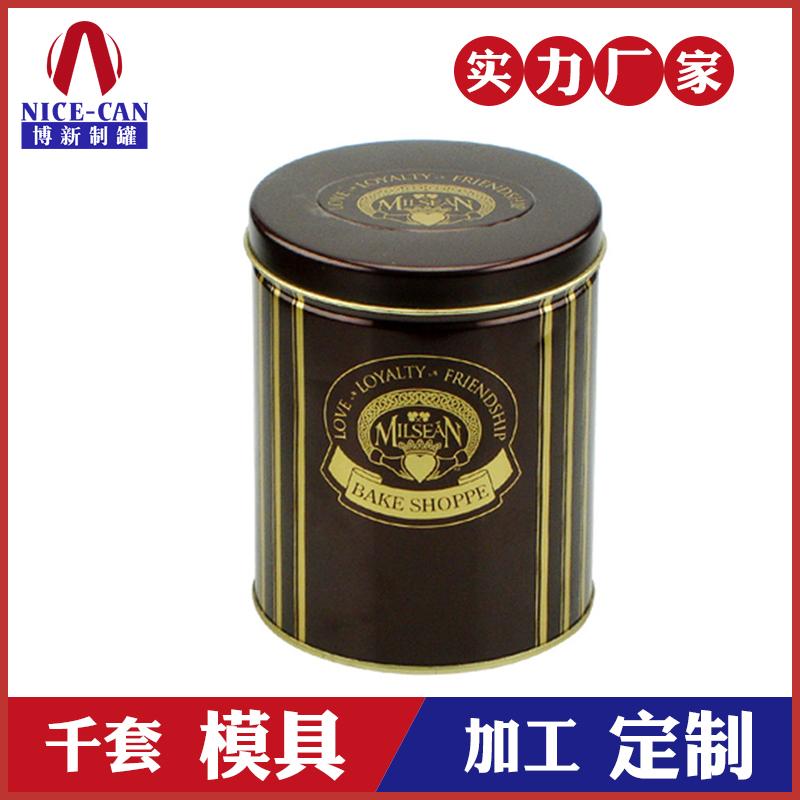 咖啡铁盒包装-圆形食品包装铁盒