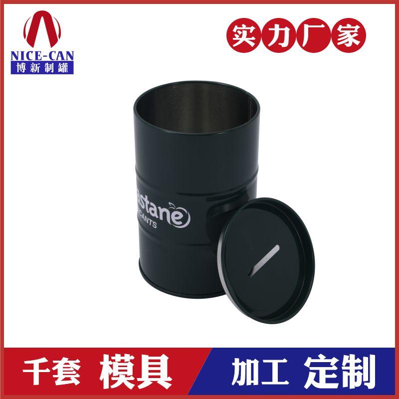 油桶创意存钱罐-马口铁存钱罐定制