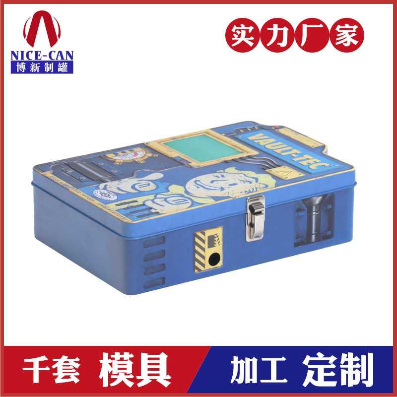 玩具礼品包装罐-定制游戏铁盒